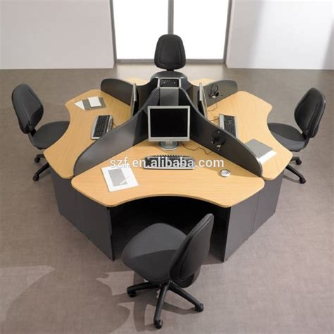 round office desk cheap pakistani furniture lahore round office partition