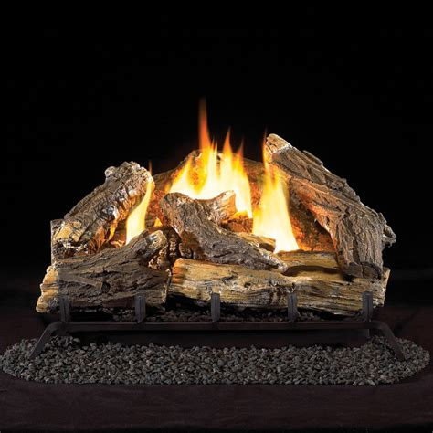 Ventless Fireplace Gas Logs by 24 Quot Ventless Liquid Propane Gas Log Set 34 000 Btu