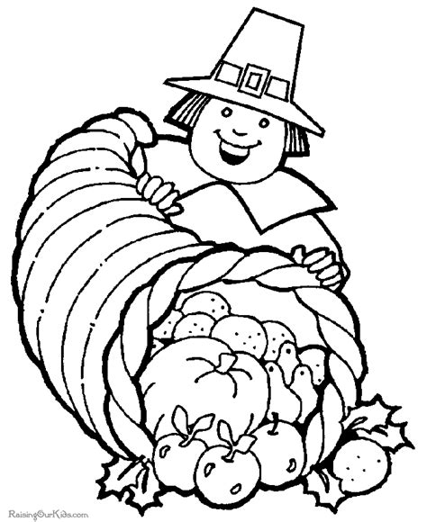 coloring sheets thanksgiving free free thanksgiving coloring pages cornucopia