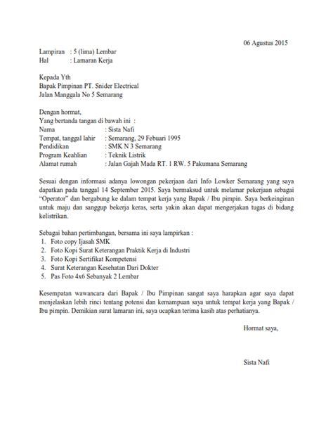 cv lamaran kerja untuk bidan surat lamaran kerja untuk operator ben jobs contoh
