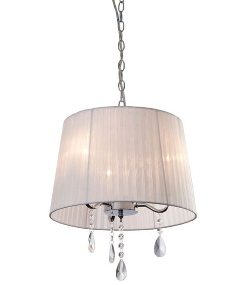 shade chandelier with crystals 350mm shaded chandelier with crystals
