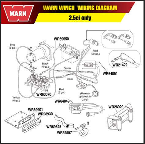 warn winch contactor wiring diagram warn winch wiring diagram wiring diagrams