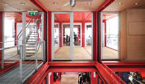 puma city shipping container store lot ek archdaily puma city lot ek architecture design