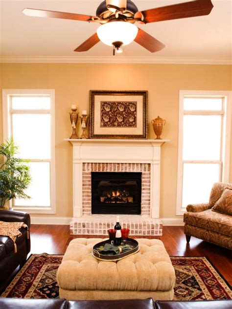 Improve Energy Efficiency With A Ceiling Fan Hgtv Ceiling Fans For Living Room