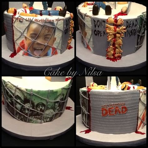 Walking Dead Cake Decorations by Walking Dead Cake Food