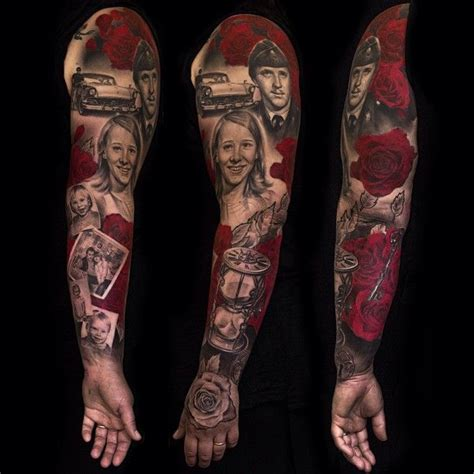 portrait sleeve tattoo designs 78 images about on fingerprints