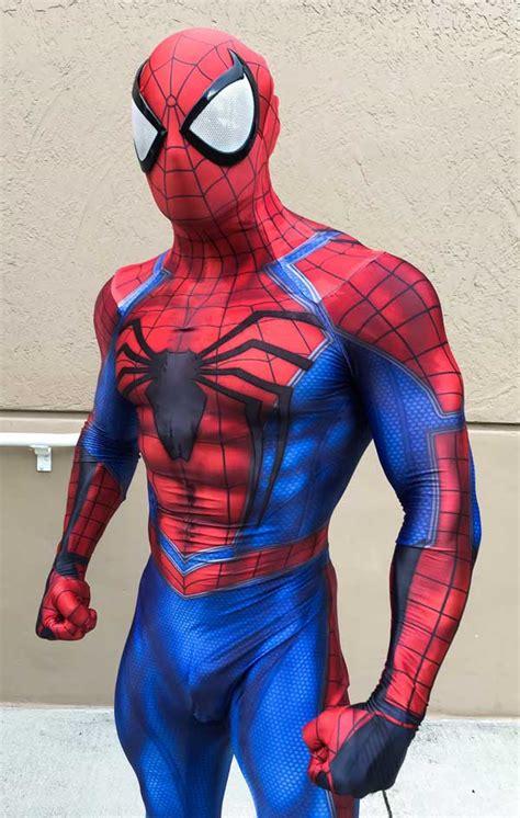 Spiderman Zentai Pattern | custom printed black insomniac spiderman zentai costume