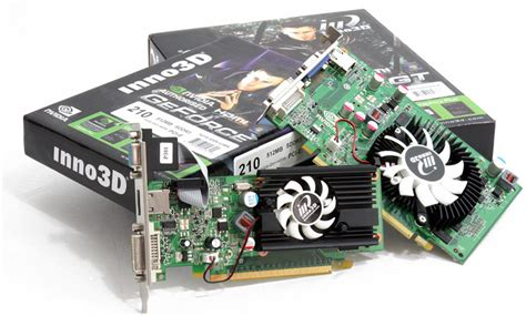 Vga Card Nvidia Geforce Gt 220 inno3d geforce gt 210 and 220 review introduction