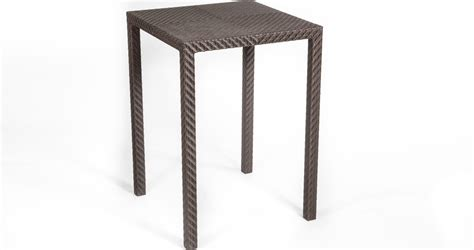 Wicker Bar Table Outdoor Rattan Bar Table Quality Outdoor Furniture Dubai