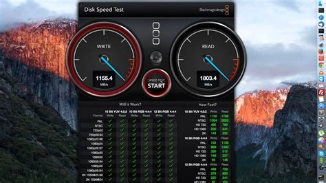 disk speed test macbook pro 15 quot 2015 disk speed test benchmark