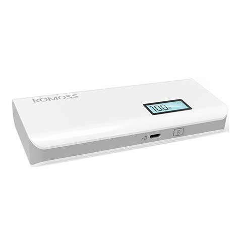 Romoss Sense 4 10400mah Power Bank original romoss sense4 plus dual usb 10400mah digital