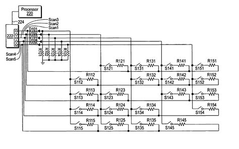patent us7151432 circuit and method for a switch matrix and switch sensing patents