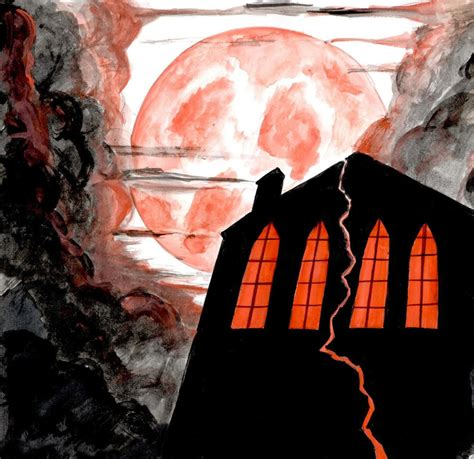 Fall Of The House Of Usher by The Fall Of The House Of Usher By Flamiathedemon On Deviantart