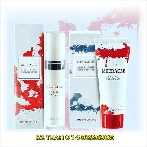meeracle gemstone beauty cleanser serum rz tuah ent