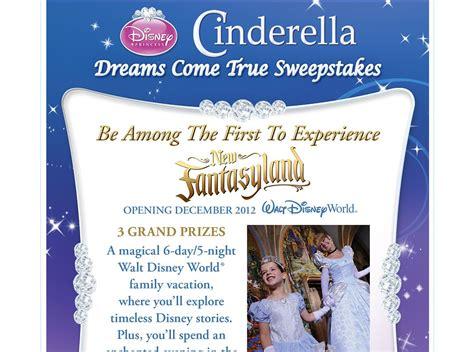 Dream Come True Sweepstakes - cinderella dreams come true sweepstakes