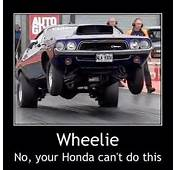 Your Honda Cant Do This  Wheelie No