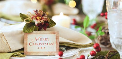 fiori natalizi fai da te segnaposto natalizi fai da te per una tavola imbandita con