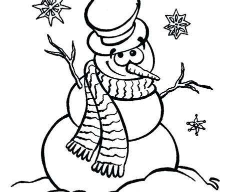 preschool coloring pages snowman free snowman coloring pages for preschool copy free