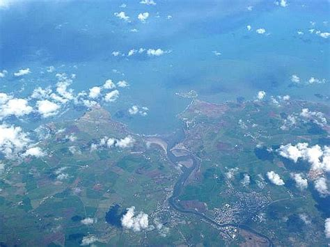 file cardigan bay from 30 000 feet geograph org uk