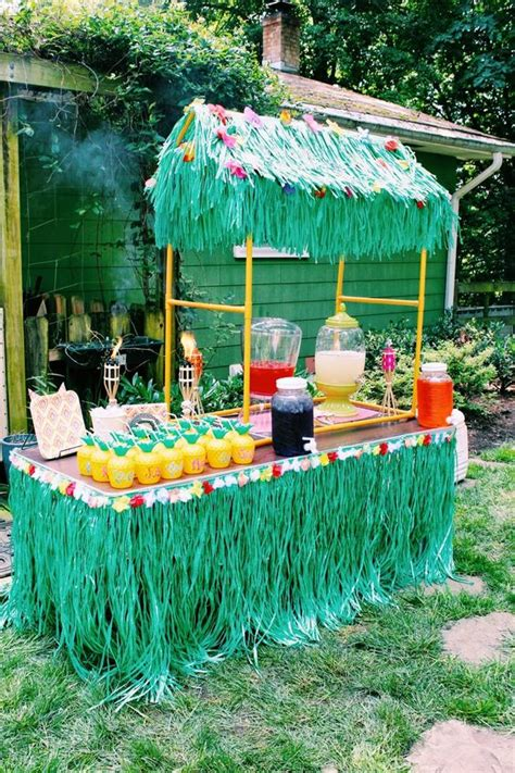 luau backyard party ideas 31 colorful luau party decor and serving ideas shelterness