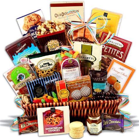 healthy christmas gift baskets