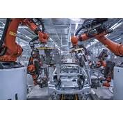 Giant Spot Weld Gun Mounted On Kuka Robot BMW 5 Series