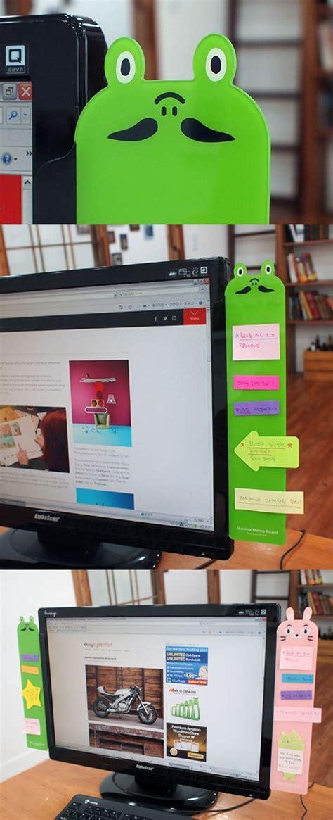 Animal Memo Board animal monitor memo board sticky notes planners and la