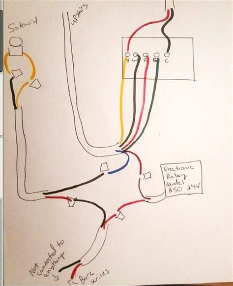 dehumidifier wiring diagram electrical schematic