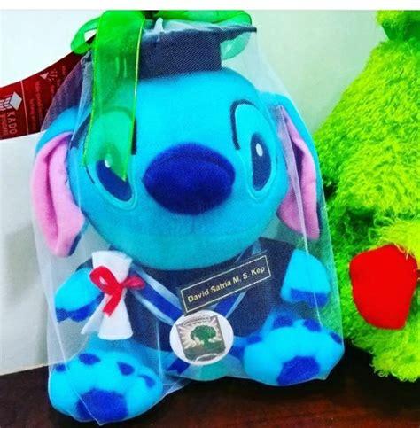 Boneka Wisuda Stitch By Keyniegift stitch boneka wisuda universitas andalas kado wisudaku