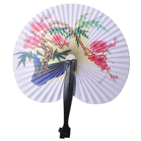 round paper fan decorations online buy wholesale paper fan patterns from china paper