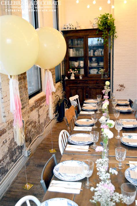 best places for bridal shower brunch in nyc a boho bridal shower in new york city celebrate decorate