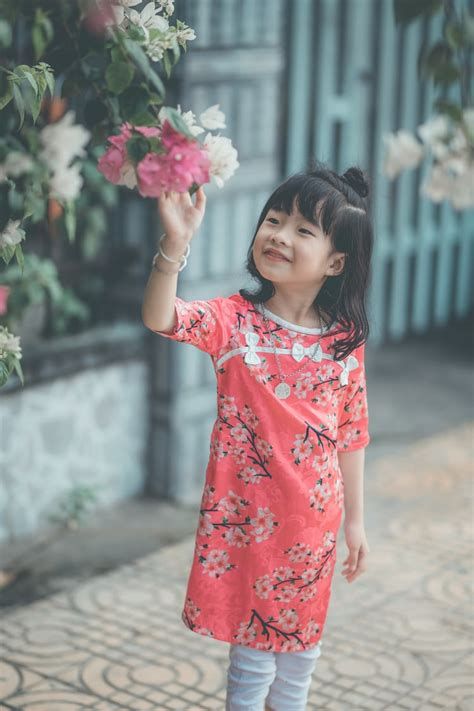 girl dancing happily photo  bao quan nguyen