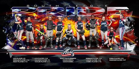 4 X8 Patriot Game Day Team Banner Template Sports Photography Pinterest Banner Template Softball Team Banner Templates