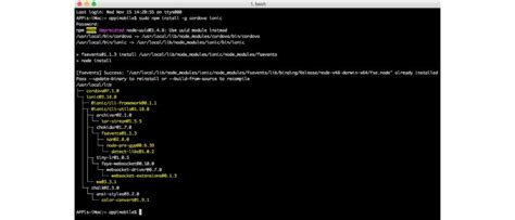 ionic tutorial from scratch ionic from scratch getting started with ionic