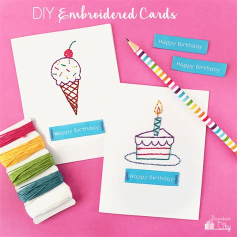make birthday cards with photos 13 diy birthday cards that are shelterness