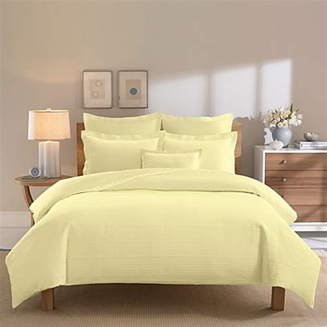 buy yellow duvet cover from bed bath beyond