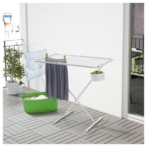 Laundry Drying Rack Outdoor by Mulig Drying Rack In Outdoor White