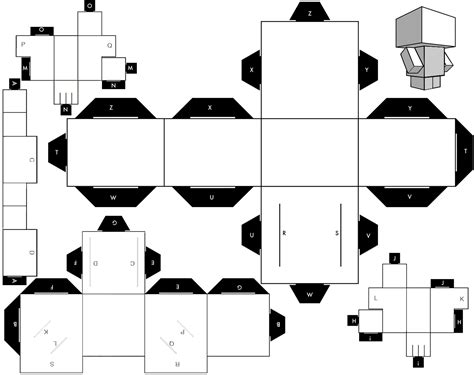 Papercraft Forum - paper papertoy stormtrooper cubeecraft template sunn