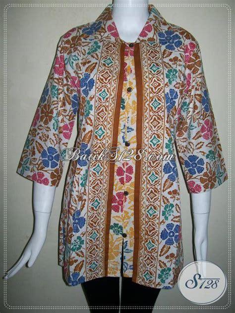 Kenan Top Grosir Baju Murah Ld 96 Pj 65 Toko Baju Batik Jual Blus Batik Wanita Modern