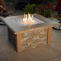 Outdoor Firepit Tables Pit Table Square By The Outdoor Greatroom Company Pits Family Leisure