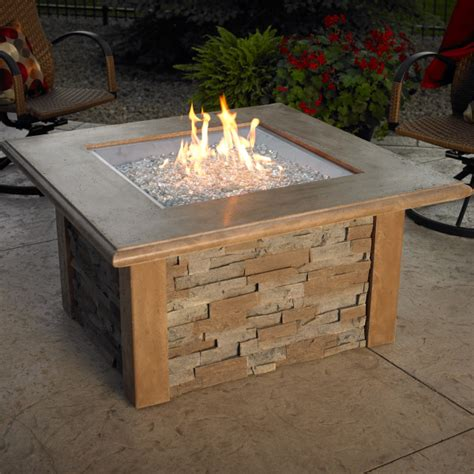 pit table square by the outdoor greatroom