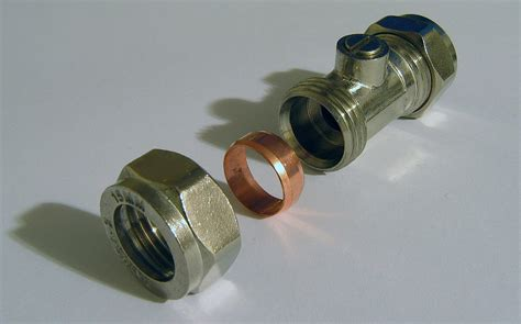 Faucet Compression Fitting by Compression Fitting
