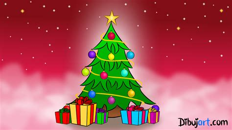 c 243 mo dibujar un 193 rbol de navidad paso a paso dibujart