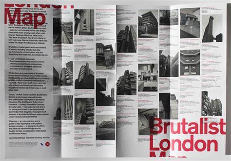 brutalist london map brutalist london map blue crow media twentieth century society