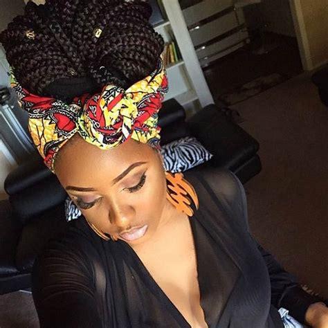 how to wrap african bareds 50 box braids hairstyles that turn heads high bun