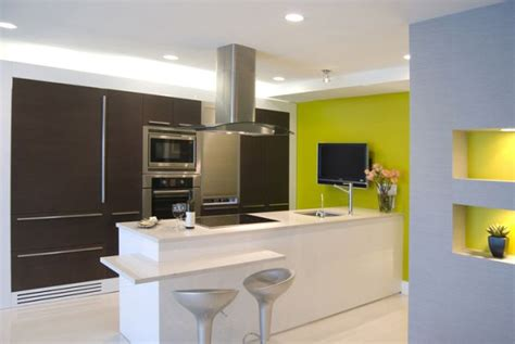 green yellow kitchen unique color combinations for the kitchen