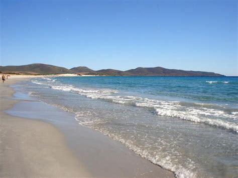 porto spiagge spiagge di porto pino tracce di sardegna