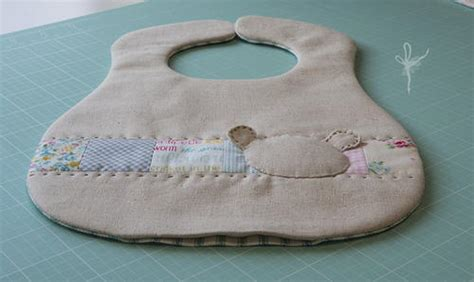 Patchwork Teddy - patchwork teddy bib favecrafts