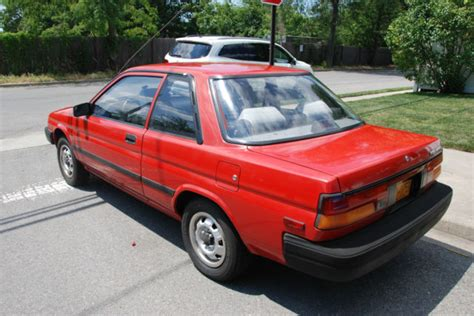 1989 toyota tercel dx sedan 2 door 1 5l for sale in
