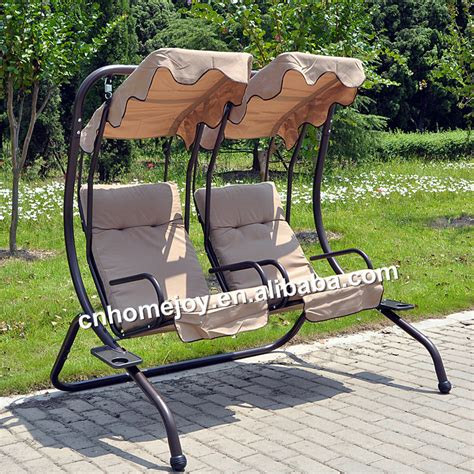 two seat patio outdoor swing balcony swing chair